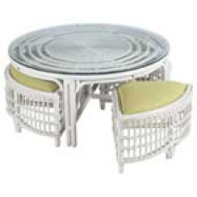 CB-2 Whitewash Wicker/Rattan