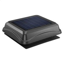 Surface Mount, Solar Powered Attic Ventilator in Black
