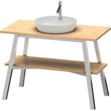 Vanity Unit Floorstanding, European Oak (solid Wood)