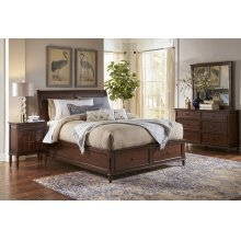 Avignon Birch Cherry Twin Panel Footboard