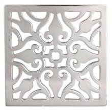 """Biscuit 4"""" Square Shower Drain"""