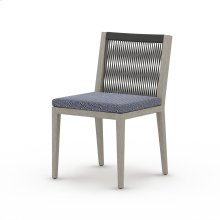 Faye Navy Cover Sherwood Outdoor Dining Chair, Weathered Grey