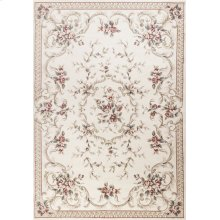 "Avalon 5606 Ivory Aubusson 5'3"" X 7'7"""