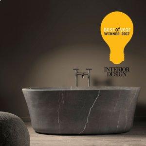 Calma Bathtub Honed Marquina Taupe Product Image