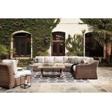 Beachcroft - Beige 5 Piece Patio Set