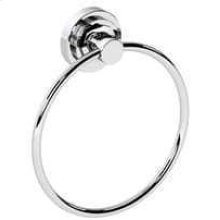 Chrome Plate Towel ring, 6""