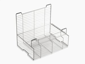 """Stainless Steel Accessory Storage Rack for Stages 33"""" and 45"""" Sinks Product Image"""