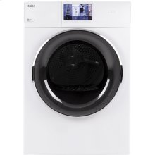 "4.3 cu.ft. Capacity 24"" Frontload Electric Dryer with Stainless Steel Basket"