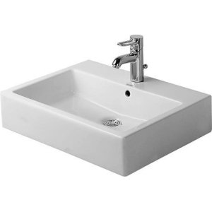 Vero Washbasin Ground 3 Faucet Holes Punched
