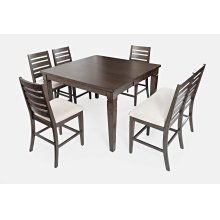 Lincoln Square Counter Table With 4 Stools