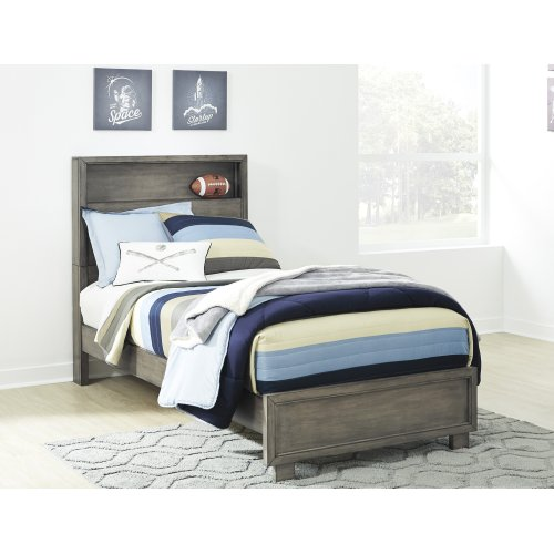 Arnett - Gray 2 Piece Bed Set (Twin)