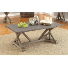 Industrial Driftwood Coffee Table