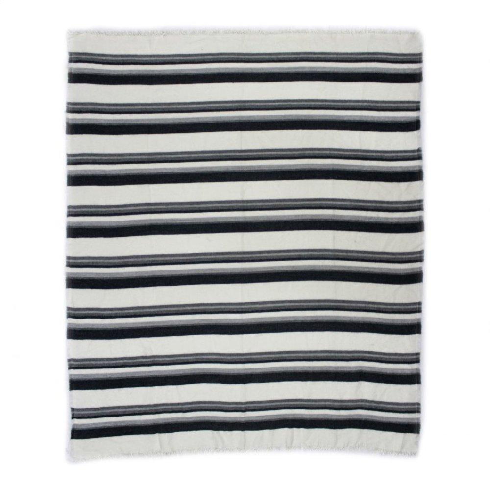 Allfresco Throw Blue Stripes