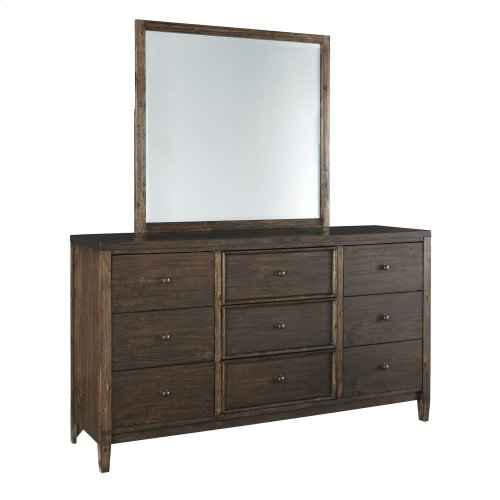 Kisper - Brown 2 Piece Bedroom Set