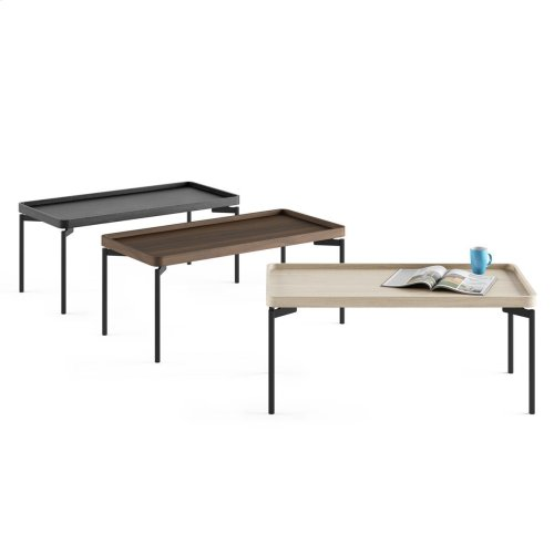 1732 Rectangular Coffee Table BDI in Drift Oak