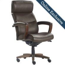 Greyson Executive Office Chair, Brown