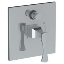 """Wall Mounted Pressure Balance Shower Trim With Diverter, 7"""""""