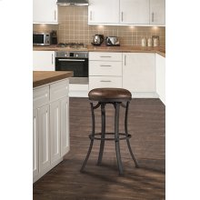 Kelford Backless Swivel Bar Stool - Textured Black