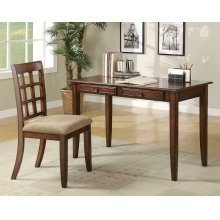 Casual Chestnut Desk Set
