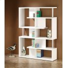 Transitional White Bookcase Product Image