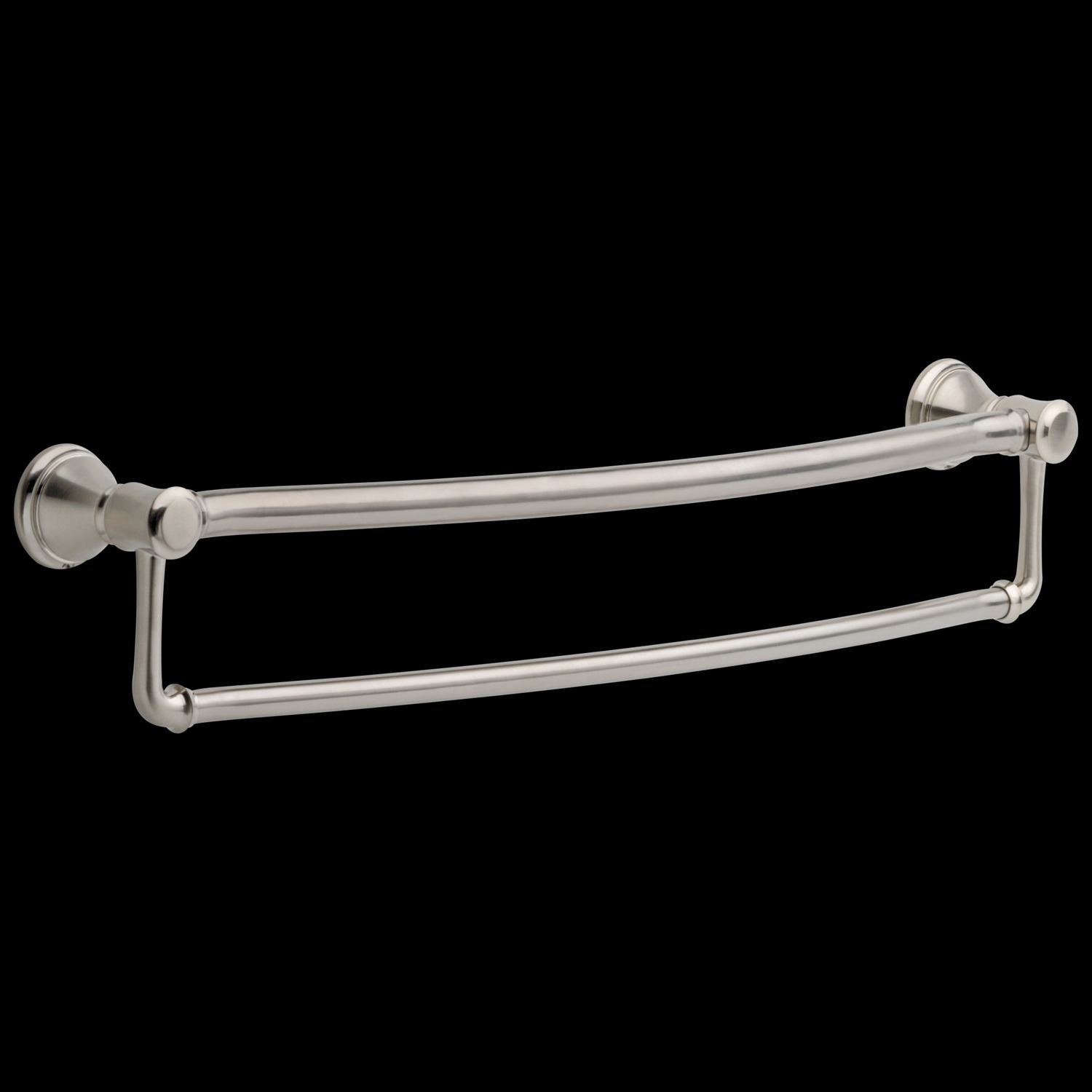 "Stainless Traditional 24"" Towel Bar with Assist Bar"