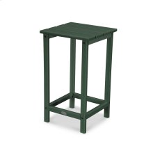 """Green Long Island 26"""" Counter Side Table"""