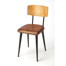 Reminiscient of retro leathers; meet the warmth of wood that will bring Mid-century mod to any room. Comfortable seating with its supple leather adds a touch of retro glam to your home decor. Just the right element to refesh and impress with the look of