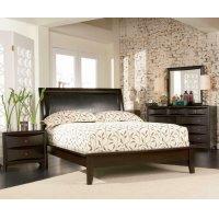 Phoenix Deep Cappuccino Queen Four-piece Bedroom Set Product Image