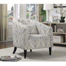 Claxton Traditional Multi-color Accent Chair