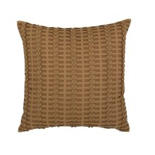 "Luxe Pillows Pleated Herringbone (21"" x 21"")"