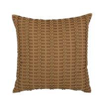 "Luxe Pillows Pleated Herringbone (21"" x 21"")"