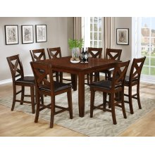 """Gregory Counter Height Pub Table with 18"""" Leaf"""