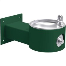Elkay Outdoor Fountain Wall Mount Non-Filtered, Non-Refrigerated Freeze Resistant Evergreen