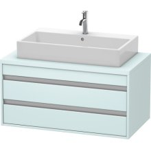 Ketho Vanity Unit For Console, Light Blue Matte (decor)