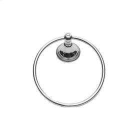 Polished Nickel - Natural Towel Ring