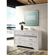 Miranda Modern Seven-drawer Dresser With Hidden Jewelry Tray
