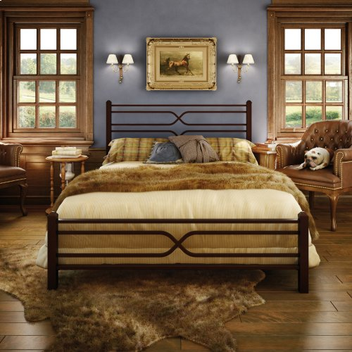 Timeless Regular Footboard Bed - Queen