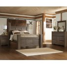 Juararo - Dark Brown 7 Piece Bedroom Set Product Image
