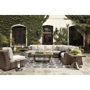 Beachcroft - Beige 7 Piece Patio Set Product Image