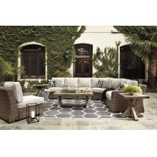 Beachcroft - Beige 7 Piece Patio Set