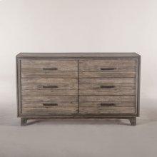 """Driftwood Dresser 62"""" Gray"""