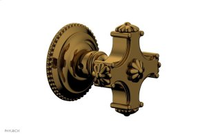 MARVELLE Volume Control/Diverter Trim - Blade Handle 162-35 - French Brass Product Image