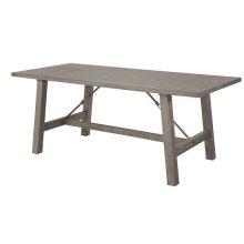 Dining Table - Mystic Gray Finish