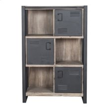 Bronx Bookshelf With Doors