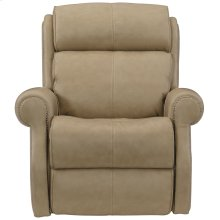 McGwire Power Motion Chair in #44 Antique Nickel