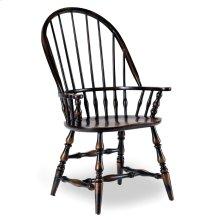 Dining Room Sanctuary Windsor Arm Chair-Ebony