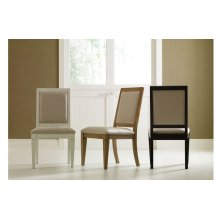 Everyday Dining by Rachael Ray Upholstered Back Side Chair - Peppercorn