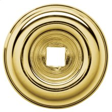 Polished Brass Knob Back Plate