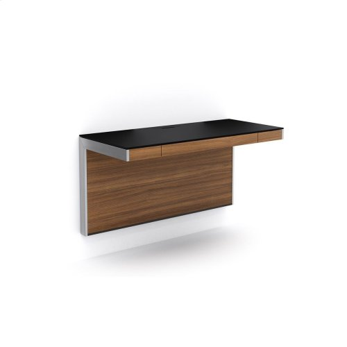 Wall Desk 6004 in Natural Walnut