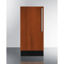 ADA Compliant Built-in Undercounter Nsf-listed Automatic Defrost Clear Icemaker With Integrated Door Frame To Accept Full Overlay Panels and an Internal Pump